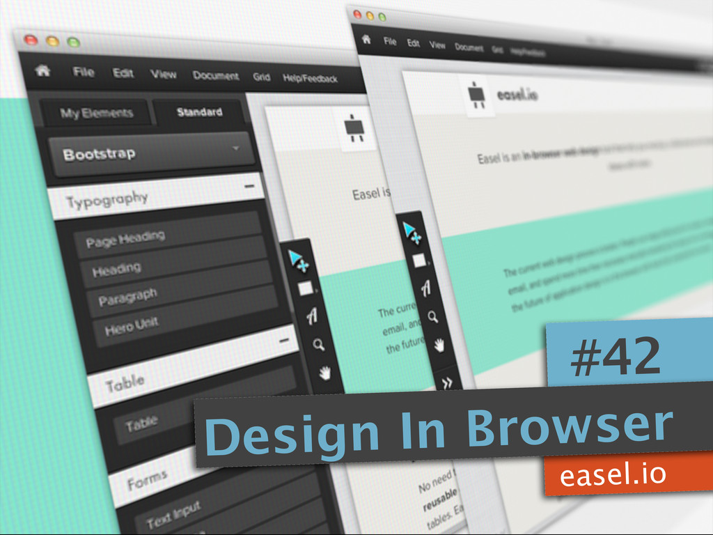 easel.io #42 Design In Browser