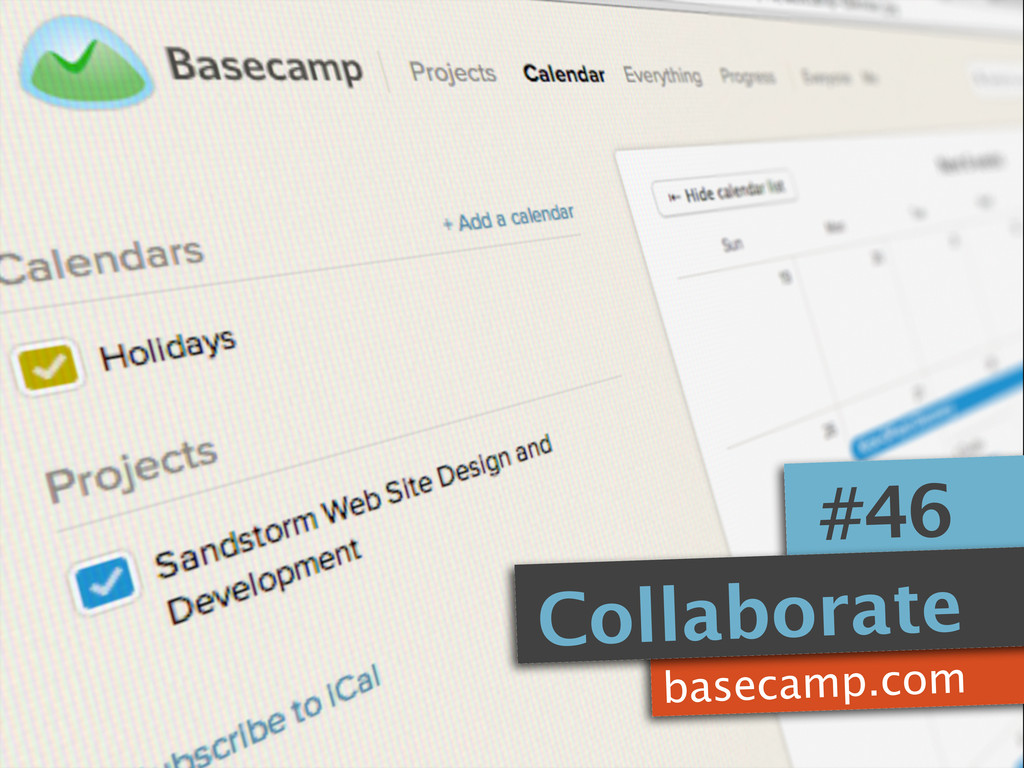 basecamp.com #46 Collaborate