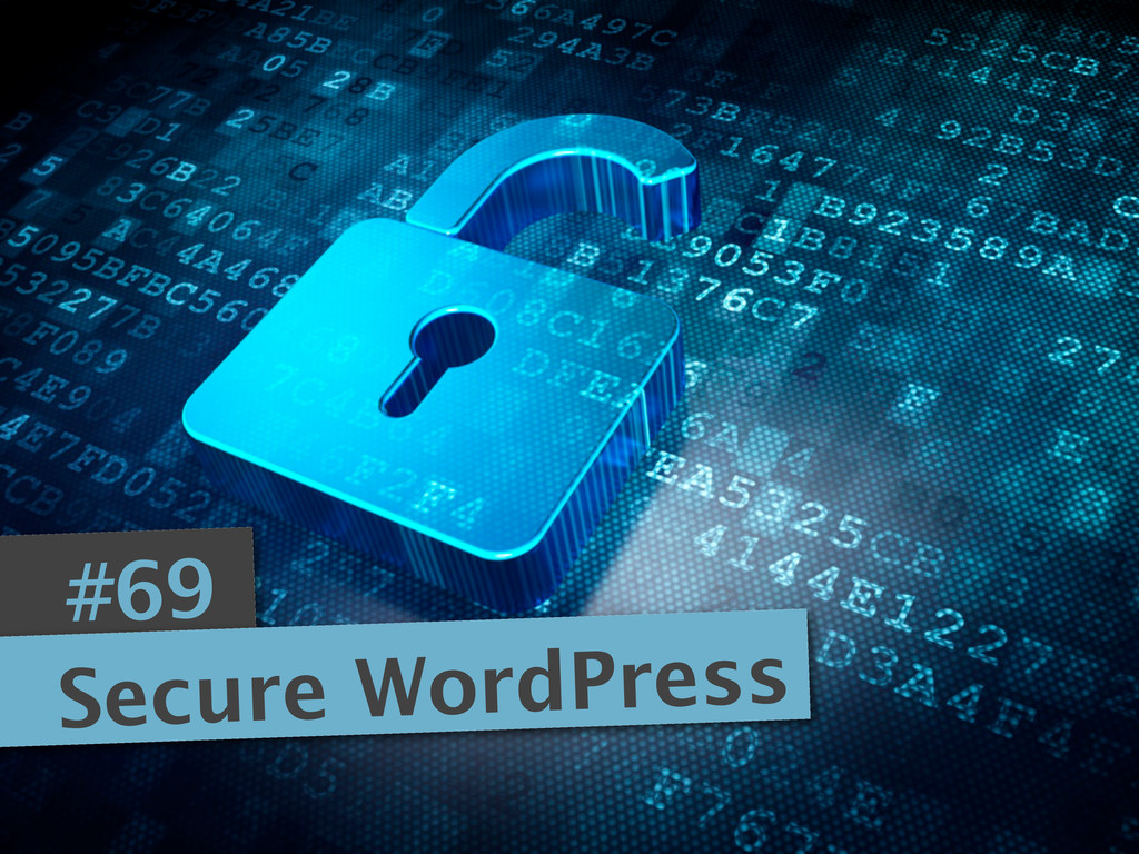 #69 Secure WordPress