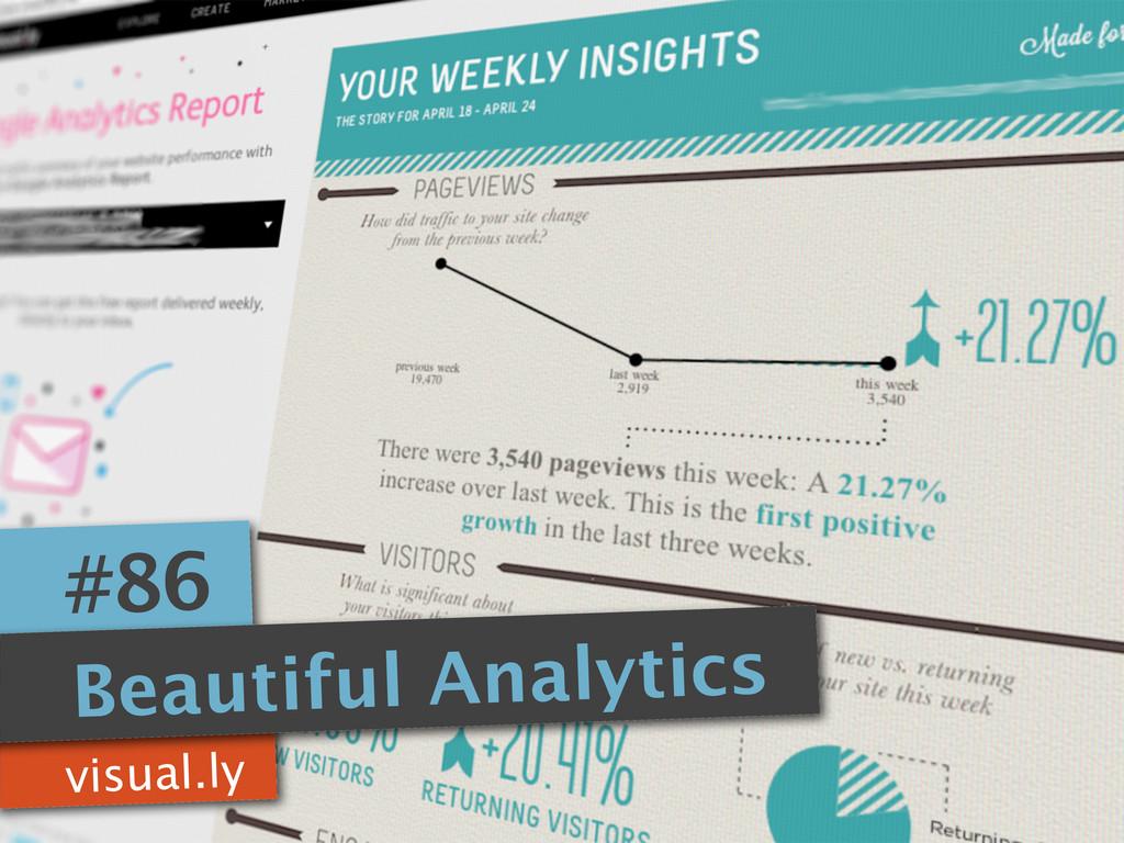 visual.ly #86 Beautiful Analytics