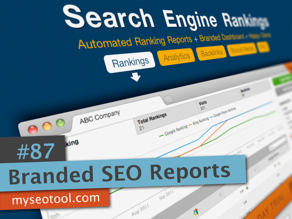 myseotool.com #87 Branded SEO Reports