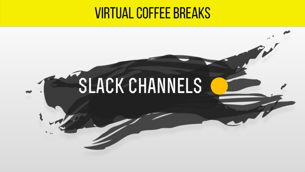 virtual coffee breaks