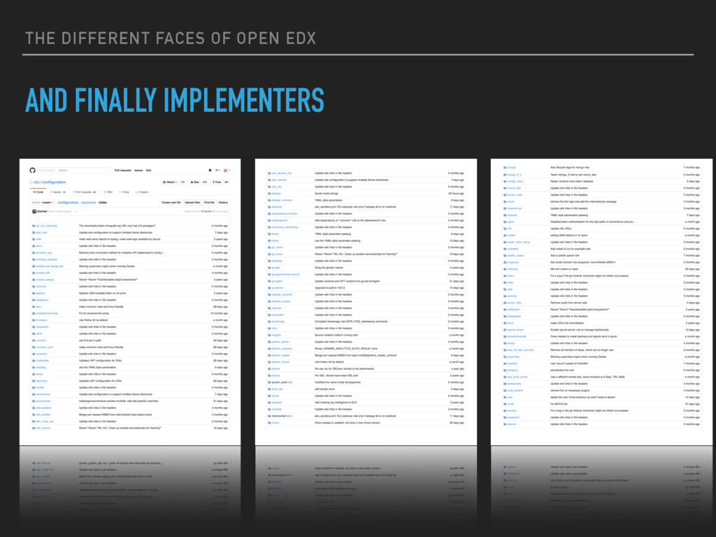 THE DIFFERENT FACES OF OPEN EDX AND FINALLY IMP...