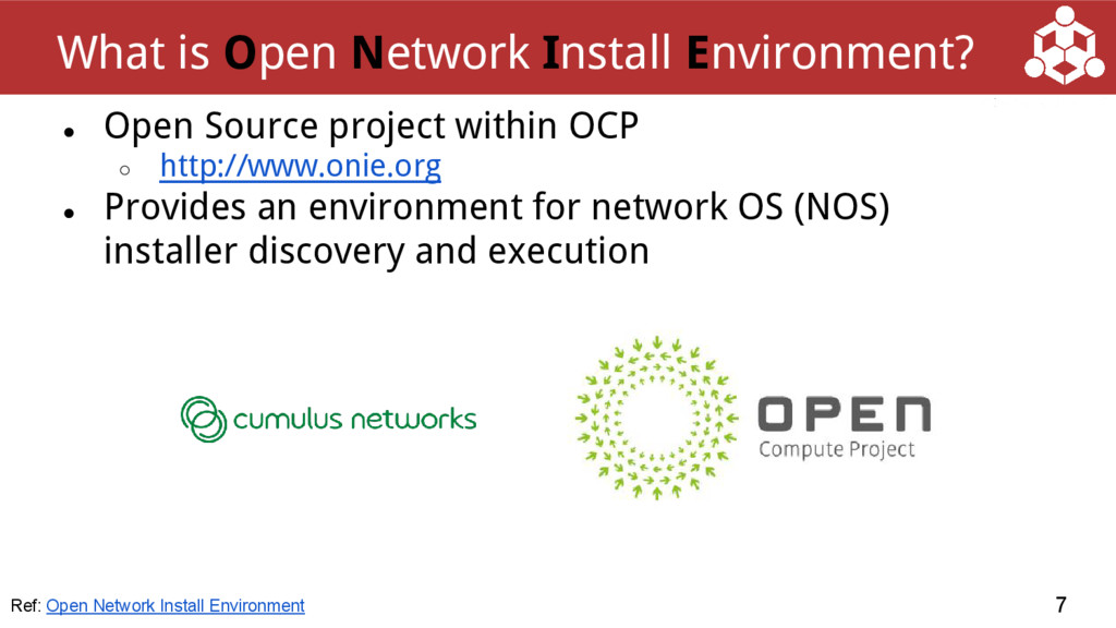 ● Open Source project within OCP ○ http://www.o...