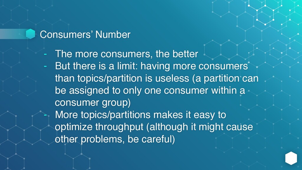 Consumers' Number - The more consumers, the bet...