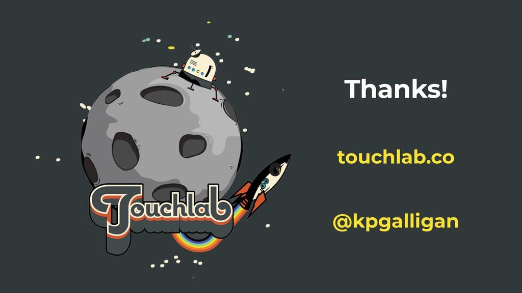 Thanks! @kpgalligan touchlab.co