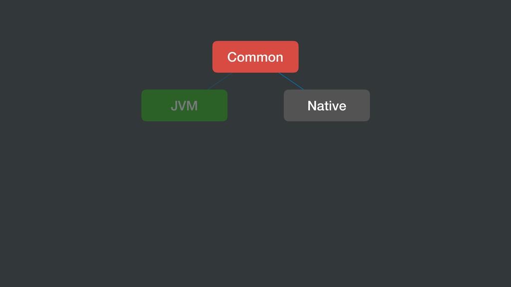 Common JVM Native