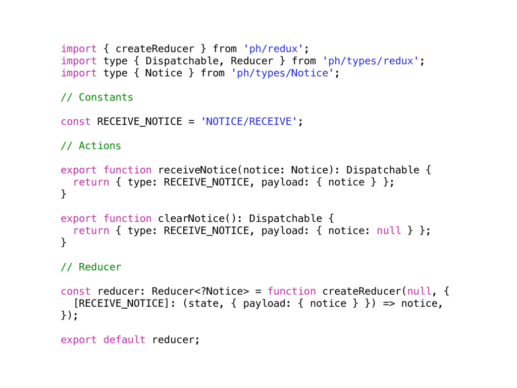 import { createReducer } from 'ph/redux'; impor...