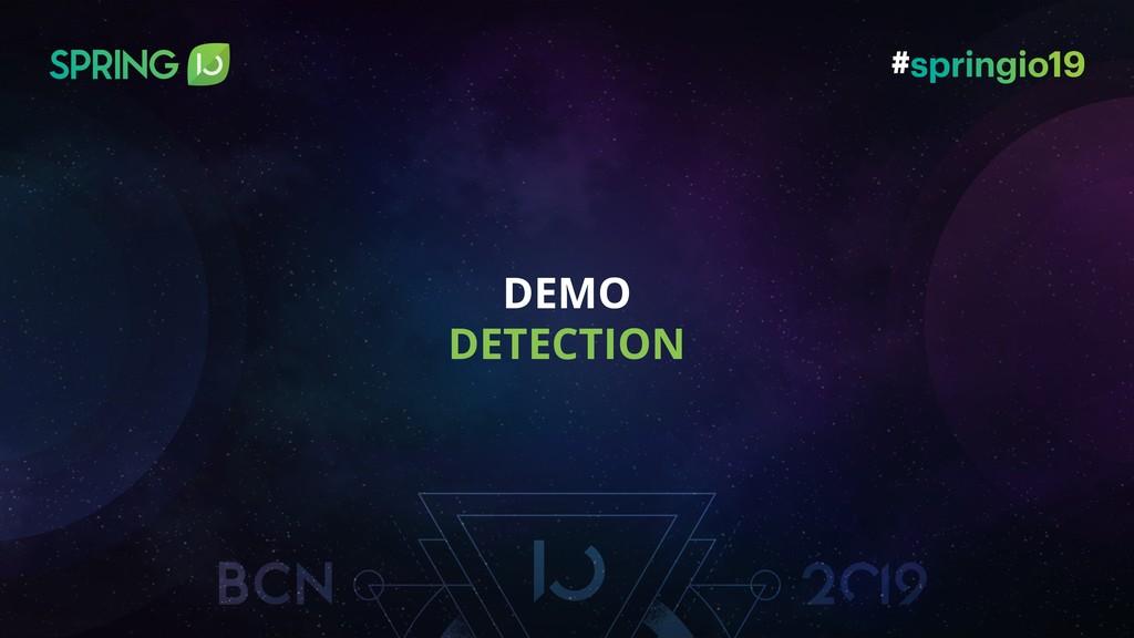 DEMO DETECTION