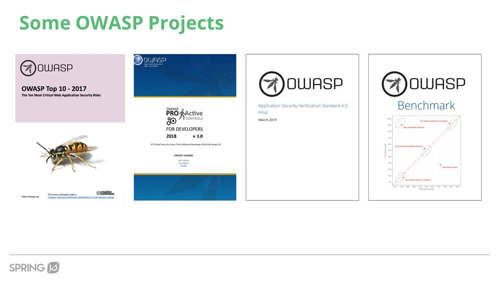 Some OWASP Projects