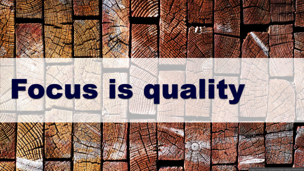 Focus is quality https://www.flickr.com/photos/...