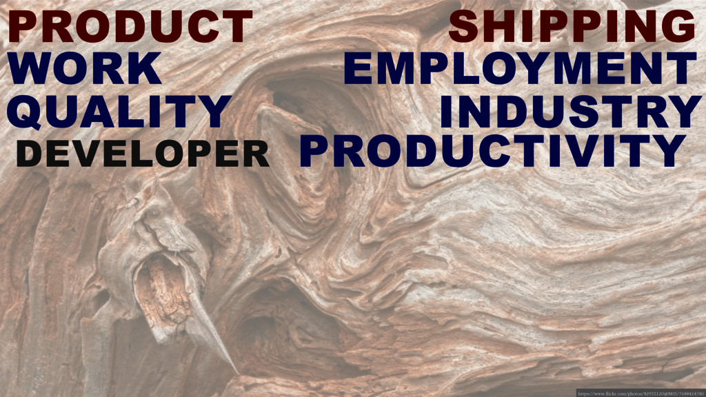PRODUCT SHIPPING DEVELOPER PRODUCTIVITY WORK QU...