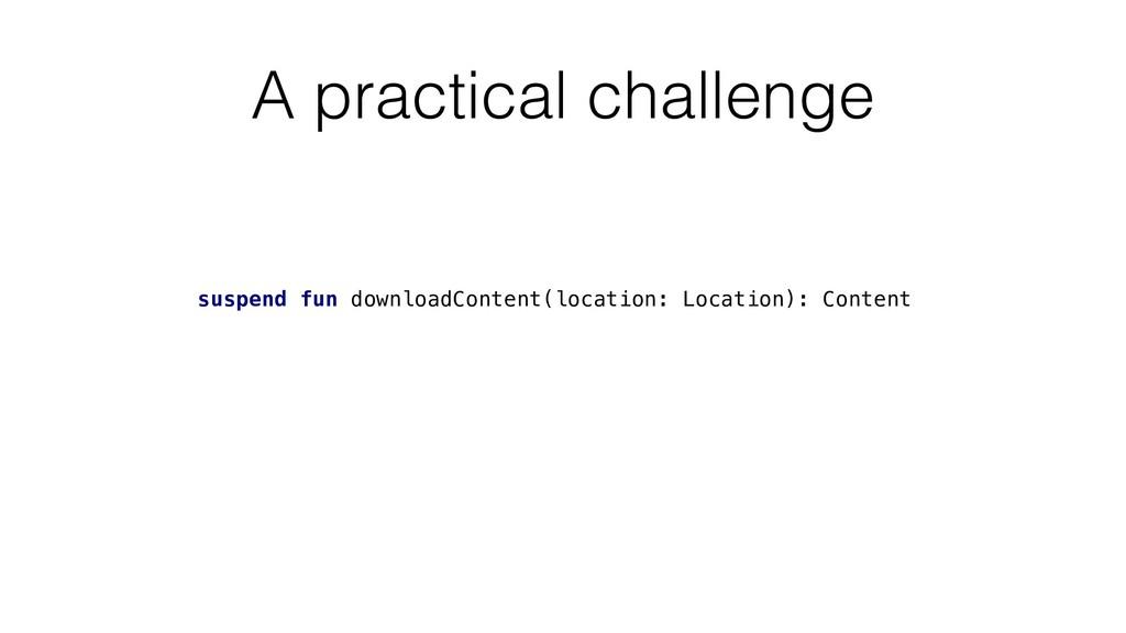 A practical challenge suspend fun downloadConte...