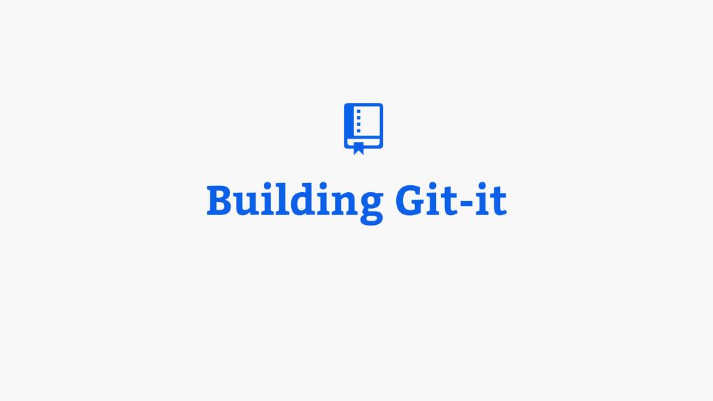 Building Git-it #