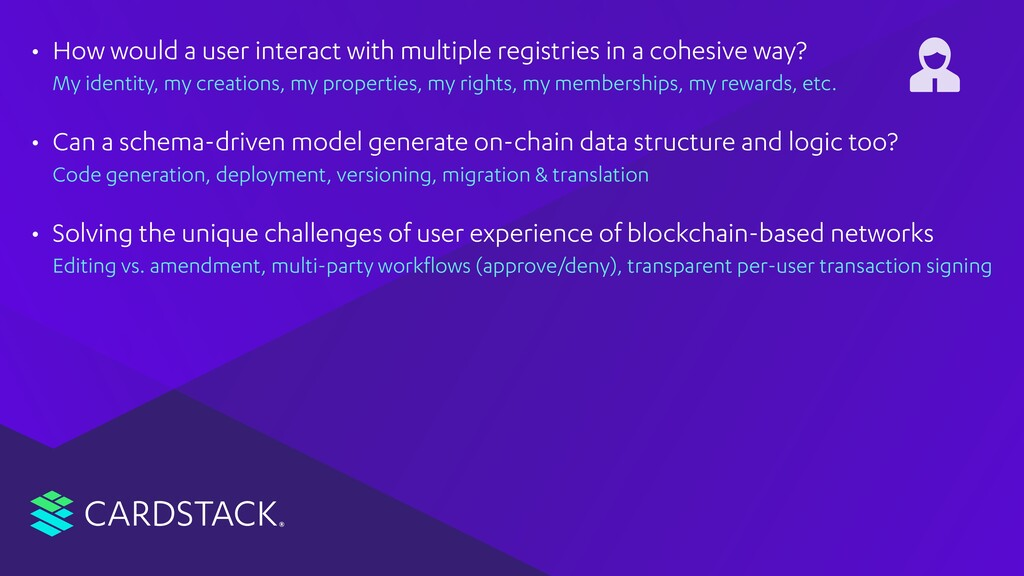 CARDSTACK • How would a user interact with mult...