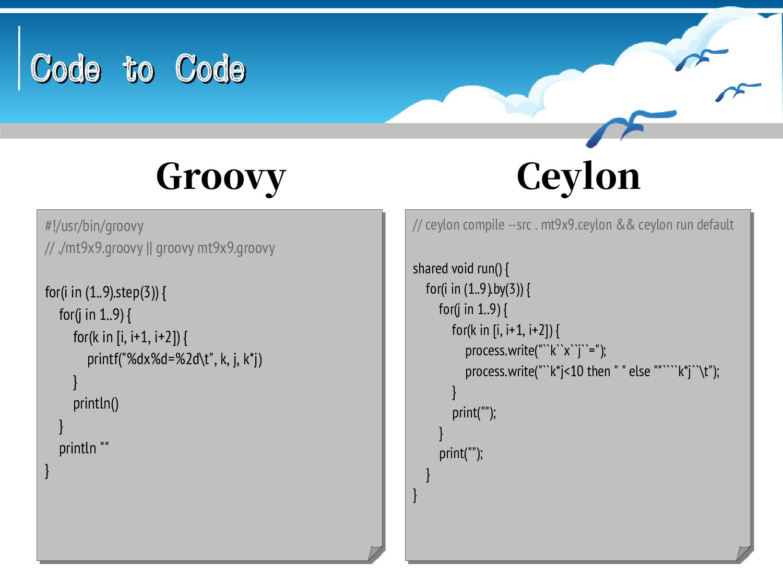 Code to Code Code to Code #!/usr/bin/awk -f # ....