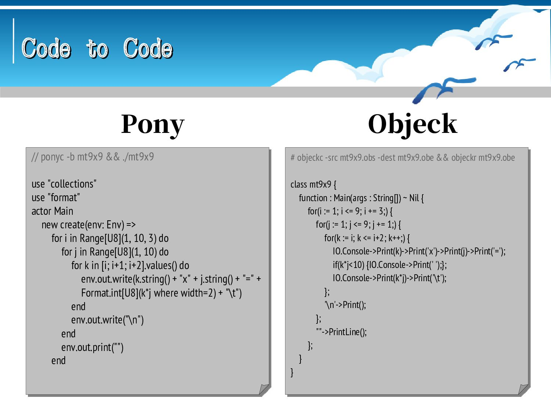 Code to Code Code to Code // patscc mt9x9.dats ...