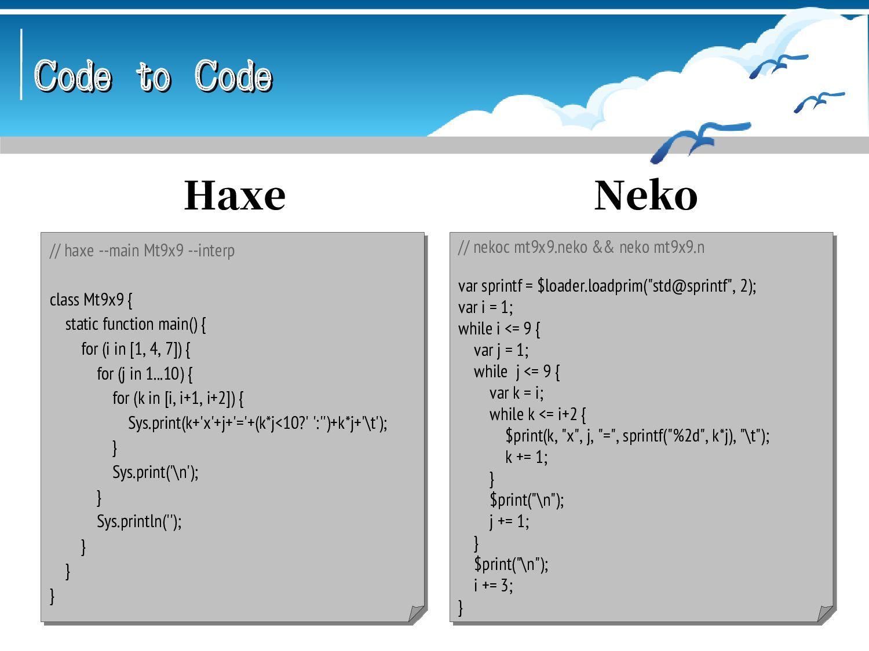 Code to Code Code to Code // gravity mt9x9.grav...