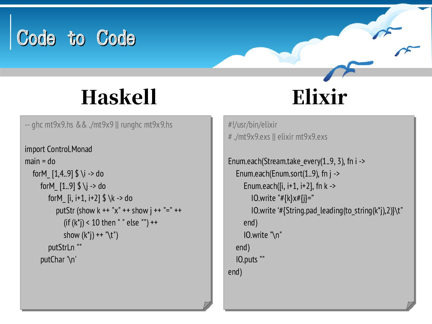 Code to Code Code to Code \ abclang < mt9x9.abc...