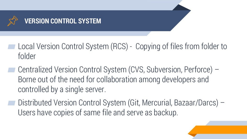 VERSION CONTROL SYSTEM ▰ Local Version Control ...