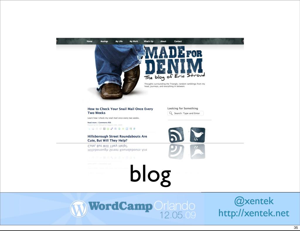 blog @xentek http://xentek.net 35