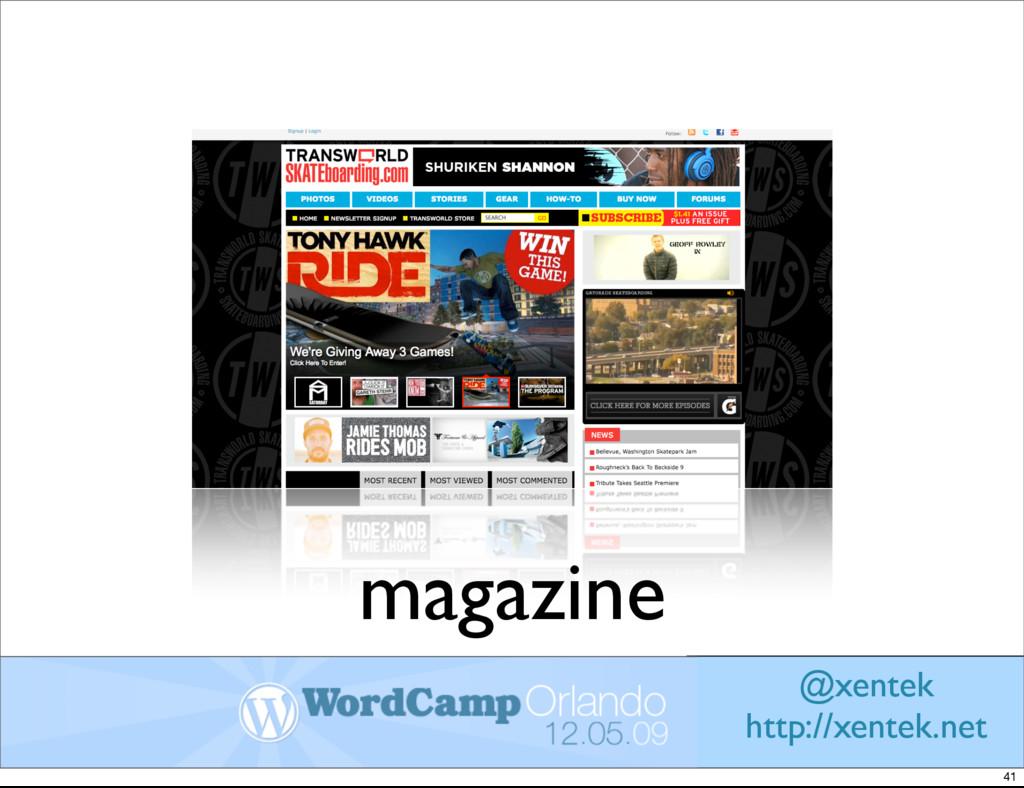 magazine @xentek http://xentek.net 41