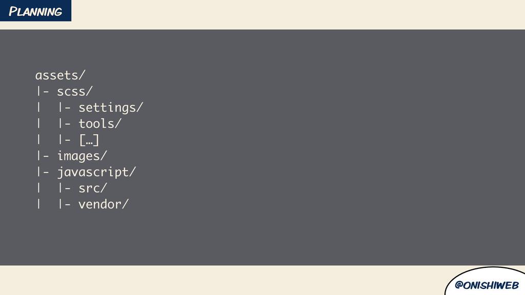 @onishiweb assets/ |- scss/ | |- settings/ | |-...