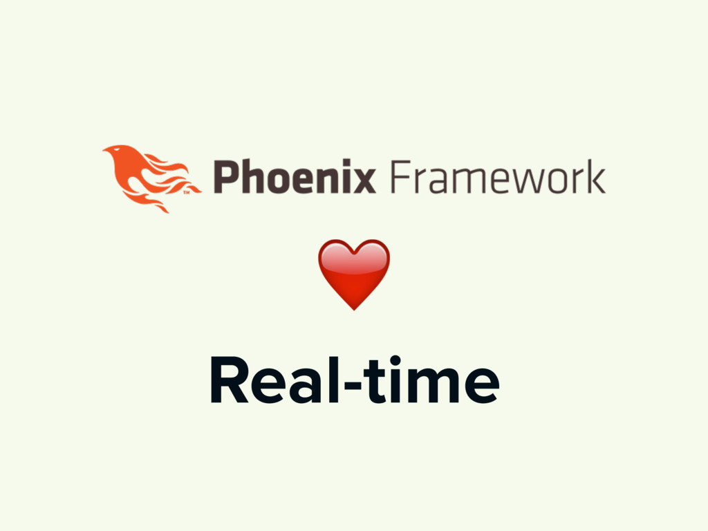 ❤ Real-time