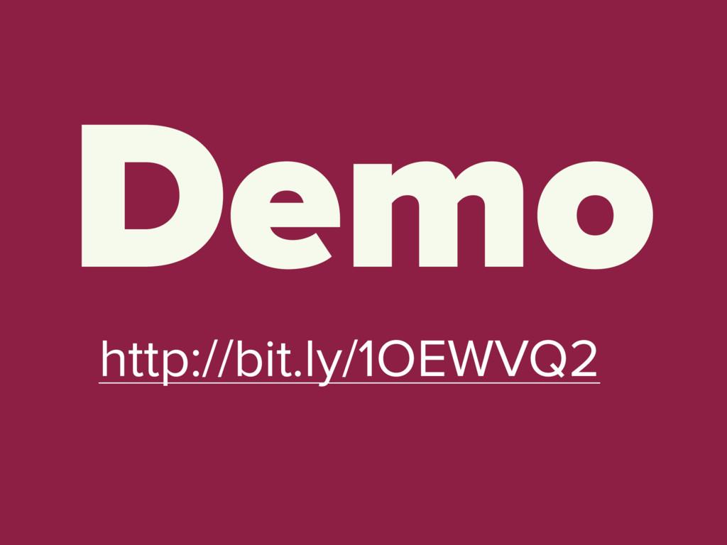 Demo http://bit.ly/1OEWVQ2