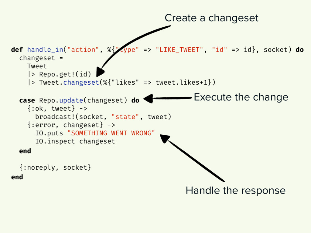 """Create a changeset def handle_in(""""action"""", %{""""t..."""