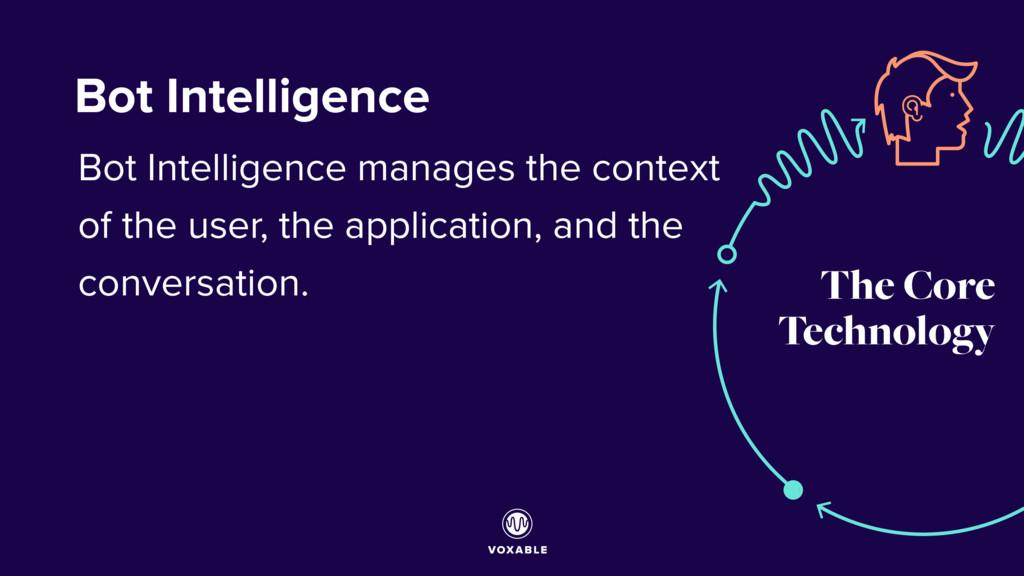 The Core Technology Bot Intelligence Bot Intell...