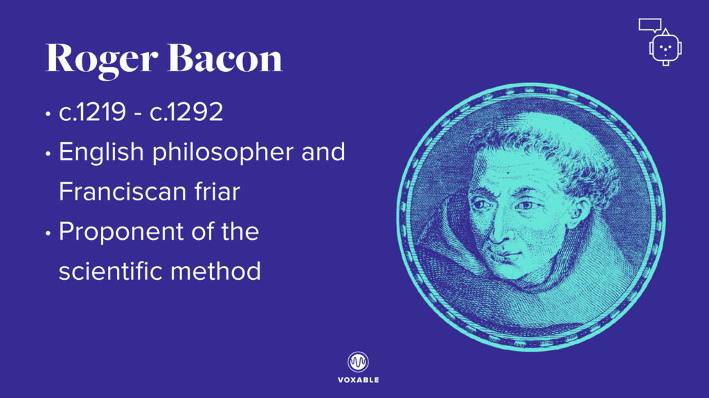 • c.1219 - c.1292 • English philosopher and Fra...