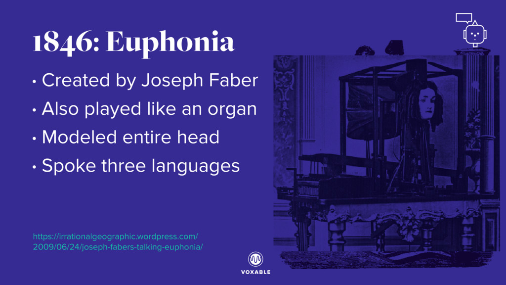 1846: Euphonia • Created by Joseph Faber • Also...