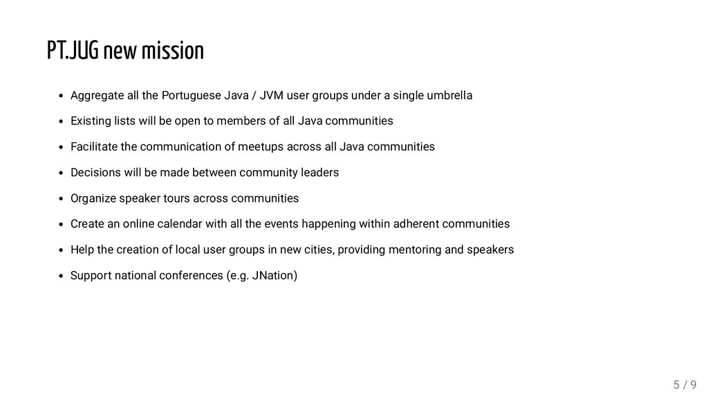 PT.JUG new mission Aggregate all the Portuguese...