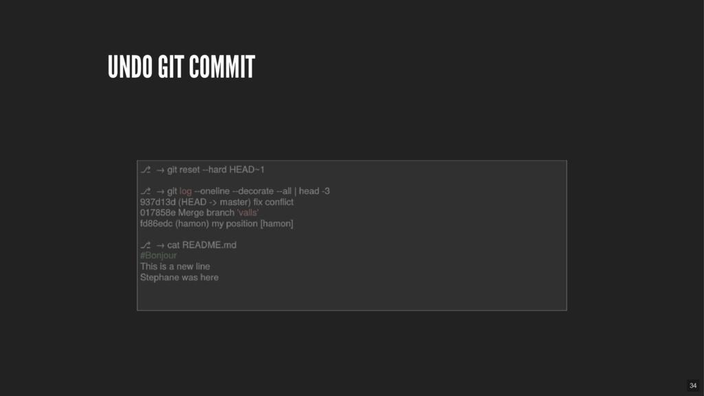 UNDO GIT COMMIT 34