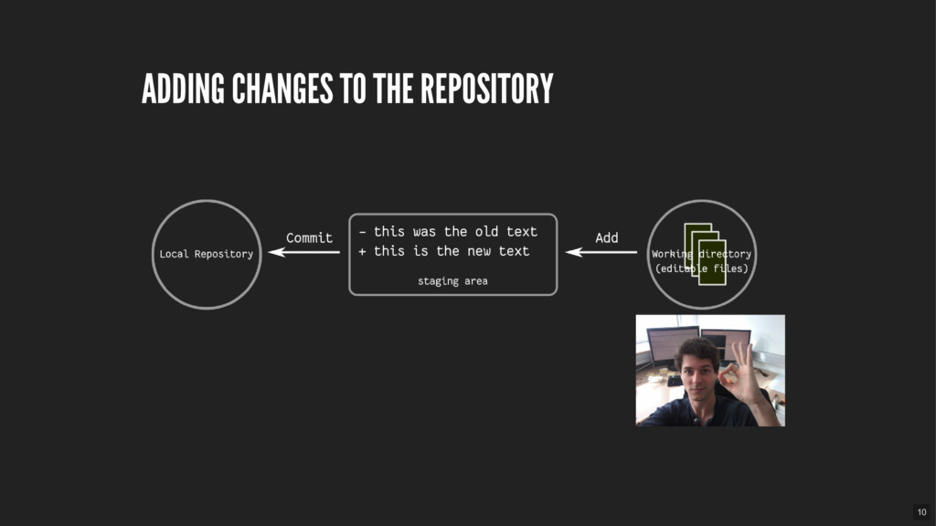ADDING CHANGES TO THE REPOSITORY 10