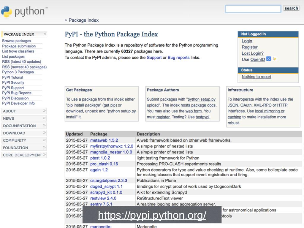 https://pypi.python.org/