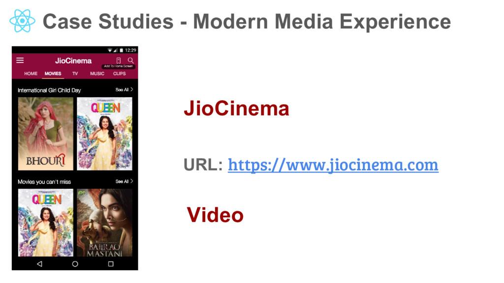Case Studies - Modern Media Experience JioCinem...