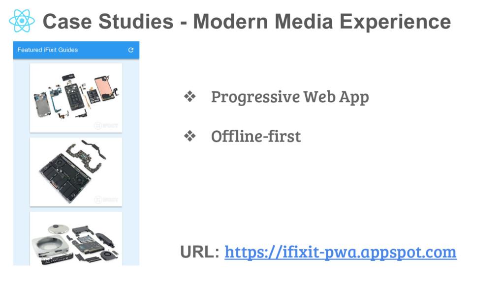 Case Studies - Modern Media Experience URL: htt...