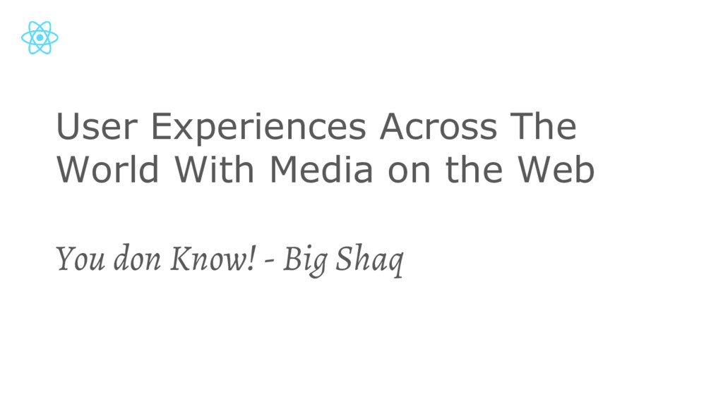 User Experiences Across The World With Media on...