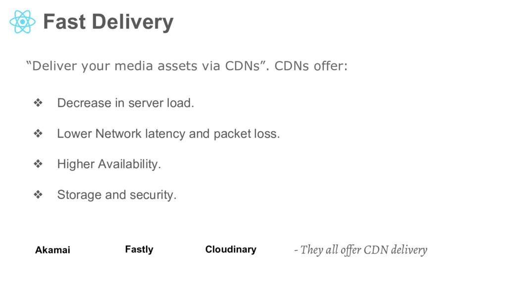 """Fast Delivery """"Deliver your media assets via CD..."""