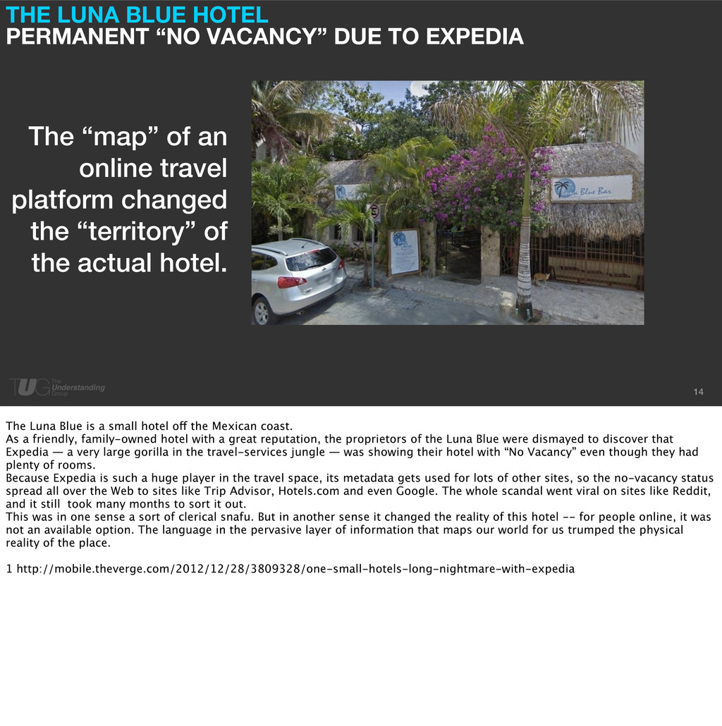 "14 THE LUNA BLUE HOTEL PERMANENT ""NO VACANCY"" D..."