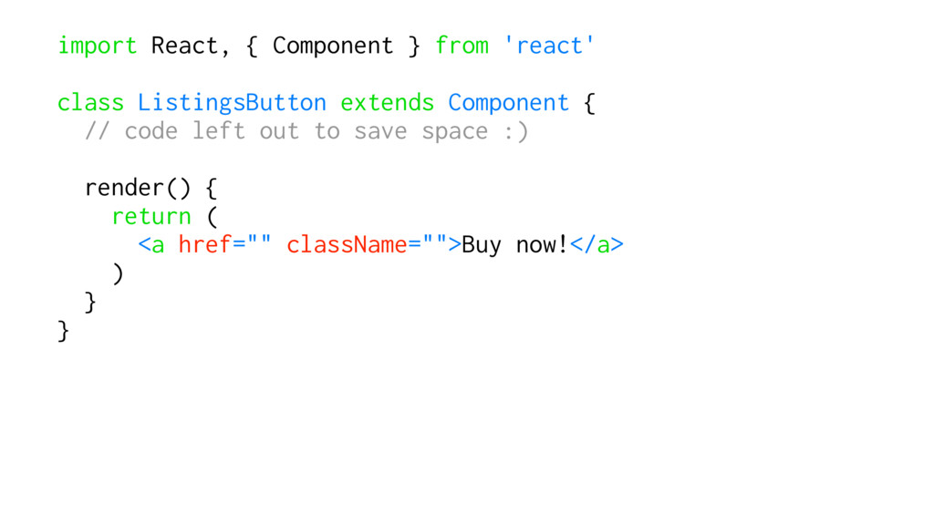 import React, { Component } from 'react' class ...
