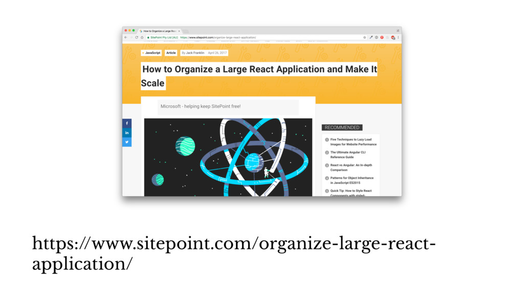 https://www.sitepoint.com/organize-large-react-...