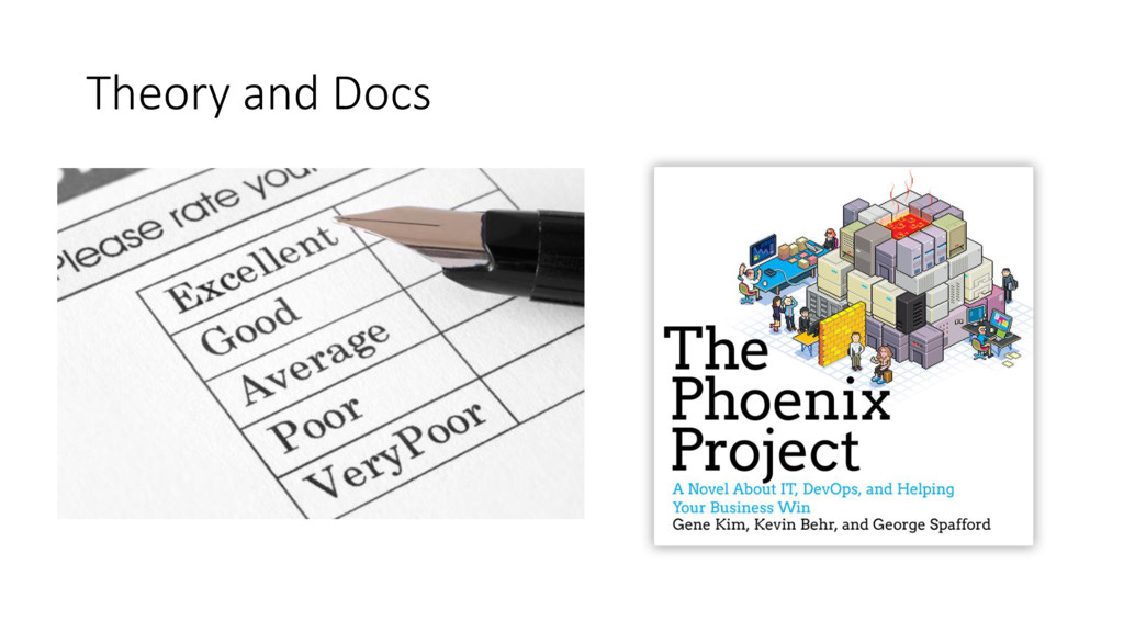 Theory and Docs • OpsReportCard