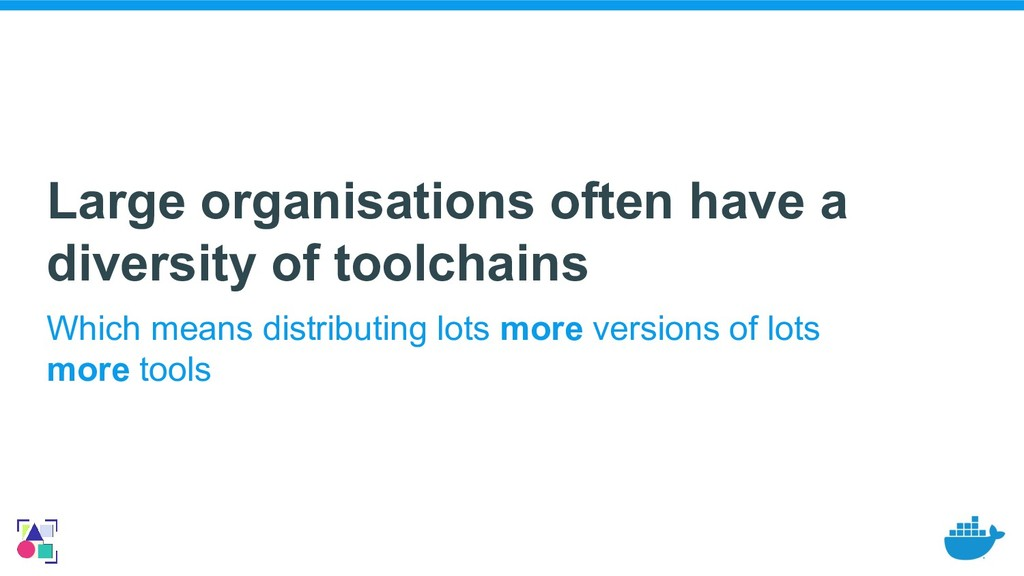 Large organisations often have a diversity of t...