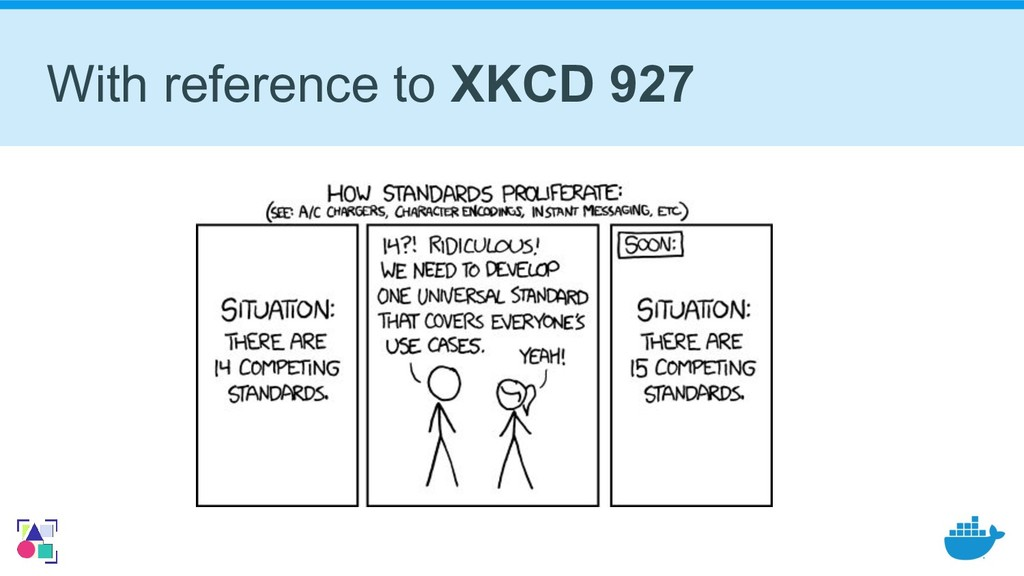 With reference to XKCD 927