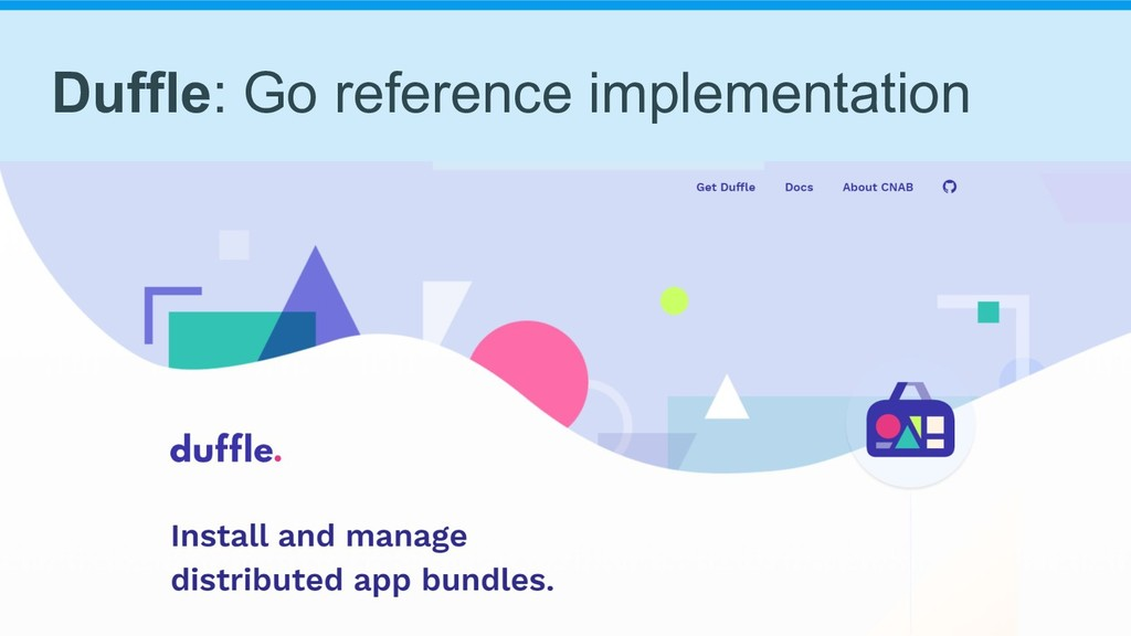 Duffle: Go reference implementation
