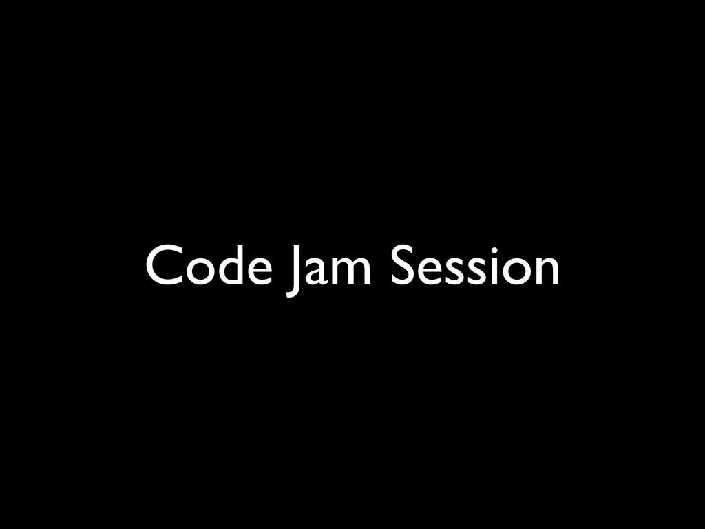 Code Jam Session