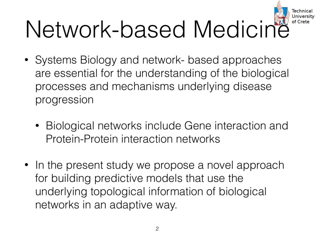 Network-based Medicine • Systems Biology and ne...